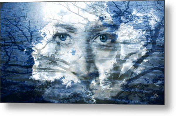Earth Wind Water Metal Print