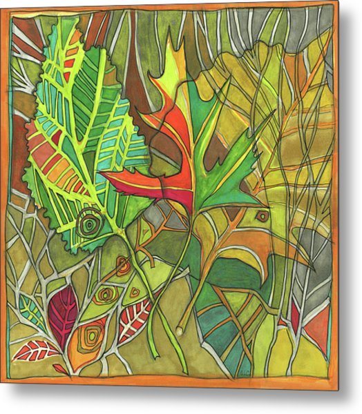 Earth's Expression Metal Print