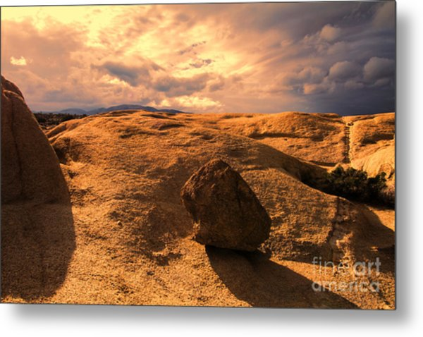 Earth's Seams Metal Print