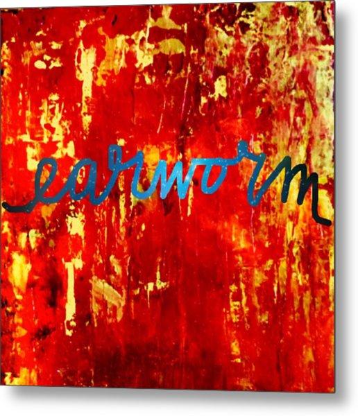 Earworm Metal Print