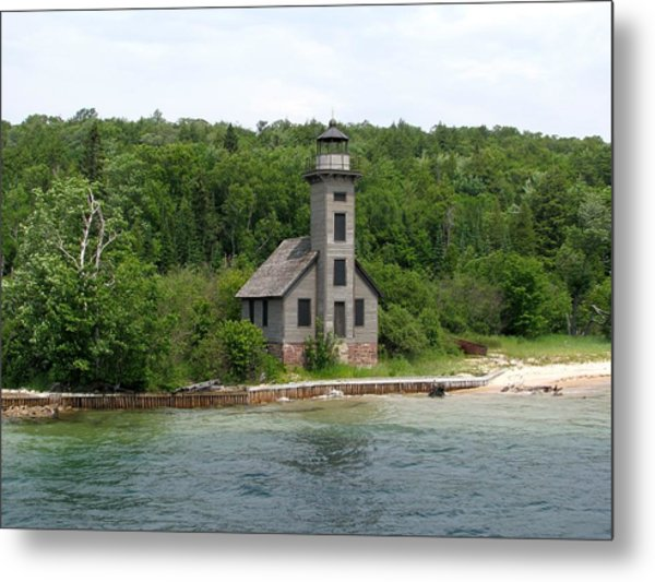 East Channel Lighthouse Metal Print