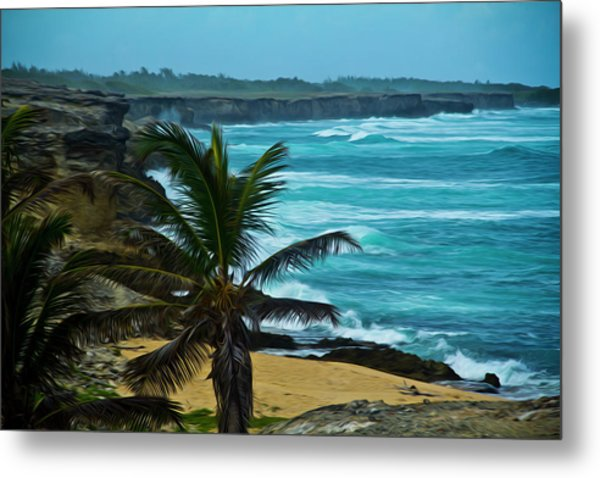 East Coast Bay Metal Print