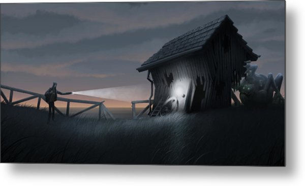 East Coast Fear Metal Print