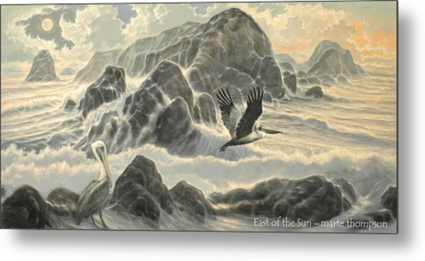East Of The Sun Metal Print by Marte Thompson