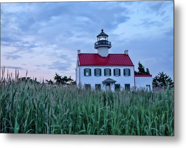 East Point At Twilight Metal Print