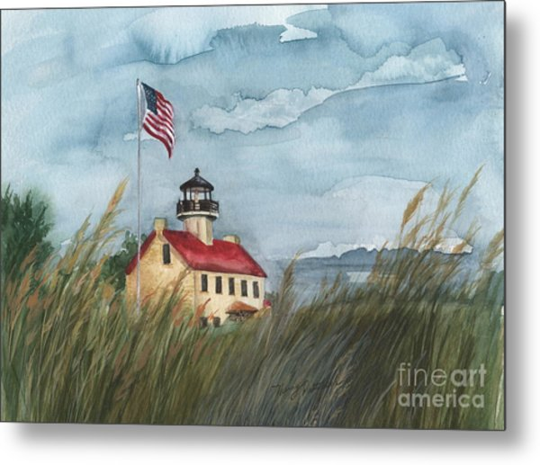 East Point Lighthouse Metal Print