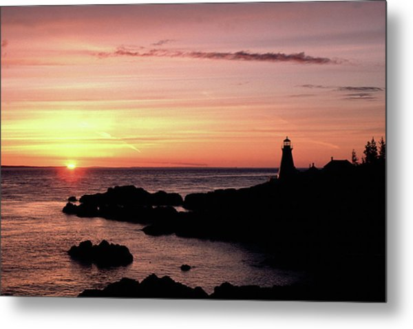 East Quoddy Head Sunup Metal Print
