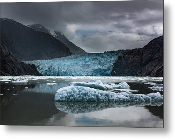 East Sawyer Glacier Metal Print