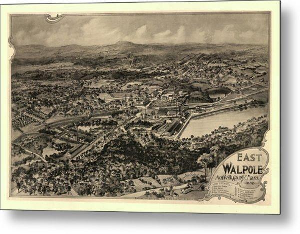 East Walpole, Norfolk County, Mass. Metal Print