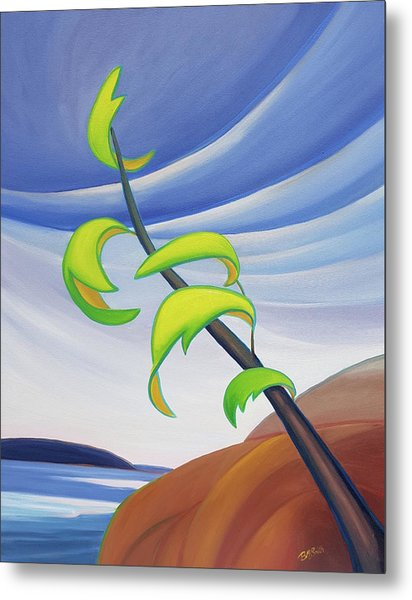 East Wind Metal Print