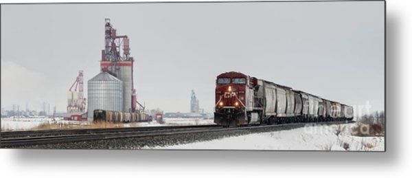 Eastbound Empties Metal Print