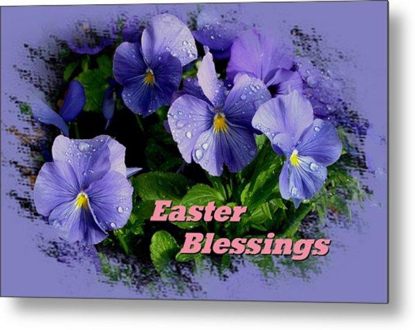 Easter Blessings Metal Print