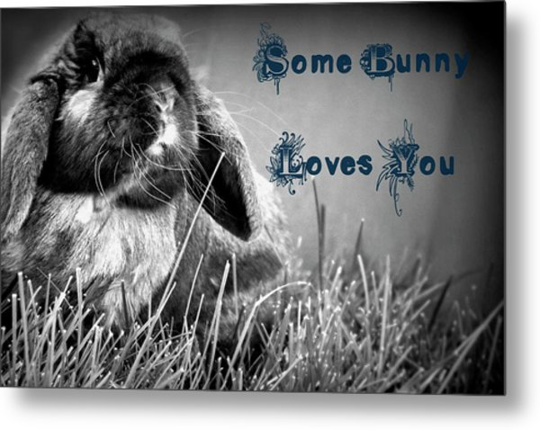 Easter Card Metal Print
