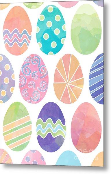 Easter Eggs 1 Metal Print