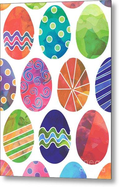 Easter Eggs 2 Metal Print