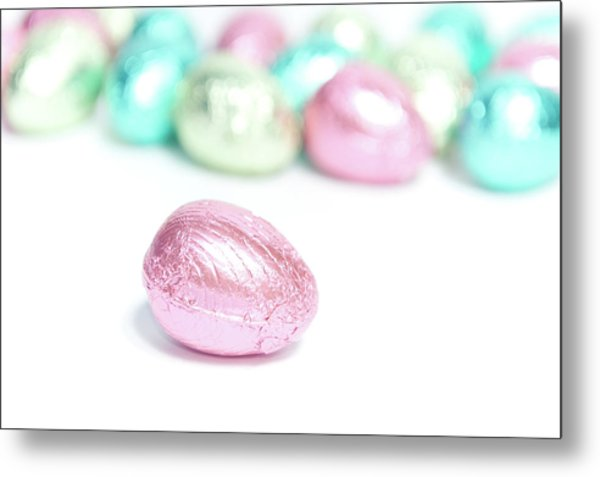 Easter Eggs II Metal Print