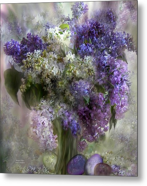 Easter Lilacs Metal Print