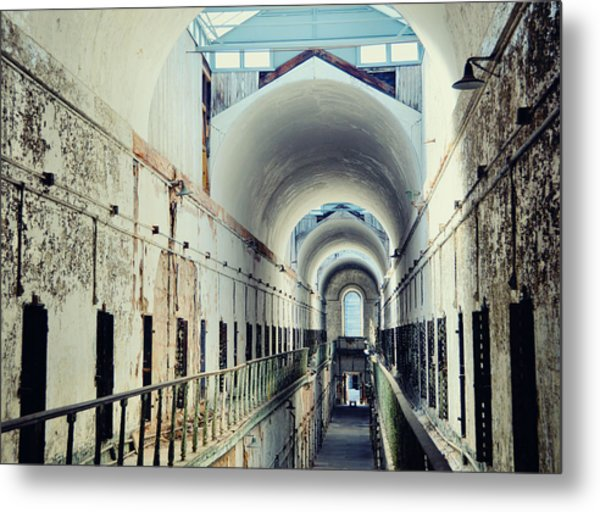 Eastern State Penitentiary Metal Print by JAMART Photography