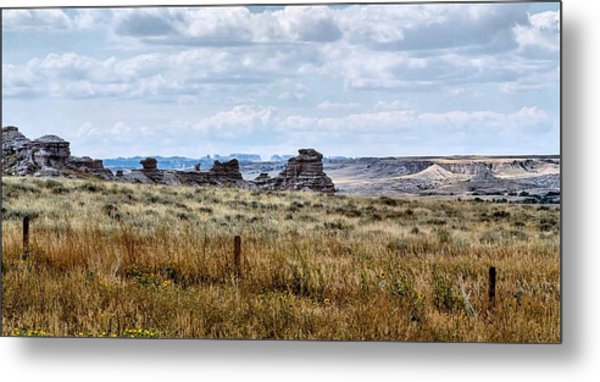 Eastern Wyoming Sky Metal Print