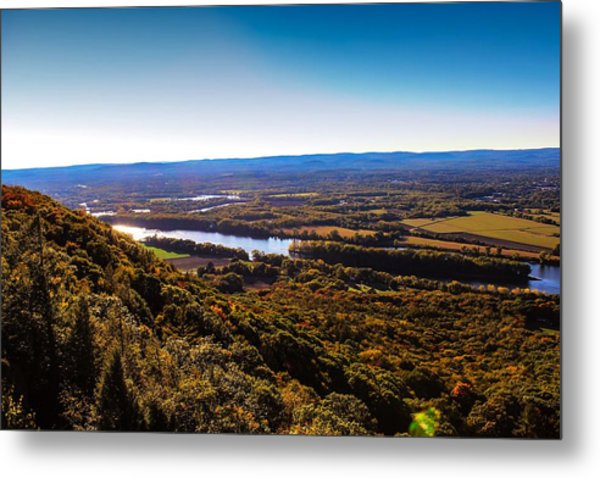 Easthampton View From Summit House Metal Print