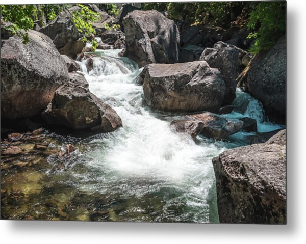Easy Waters- Metal Print