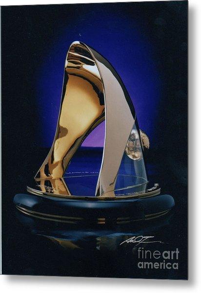 Eaton Quality Award Sculpture  Metal Print