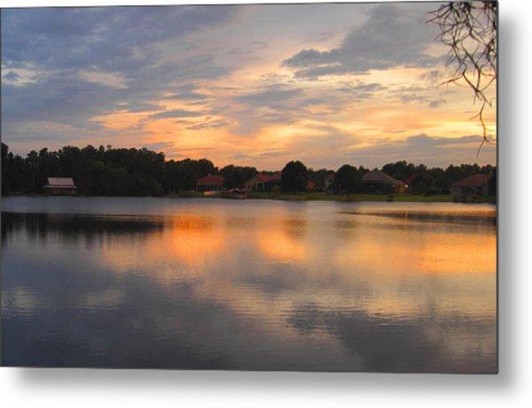 Echo Lake Sunset Metal Print by Penfield Hondros