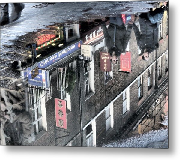 Echoes Of China Metal Print