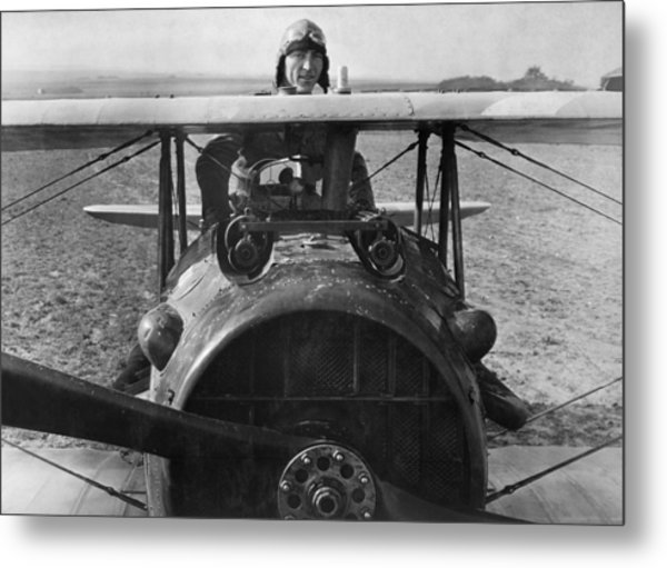 Eddie Rickenbacker - World War One - 1918 Metal Print