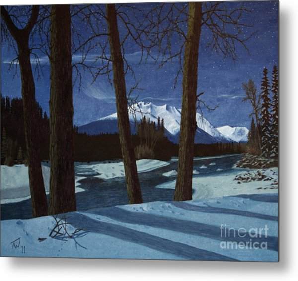 Eddy Park Moonlight Metal Print