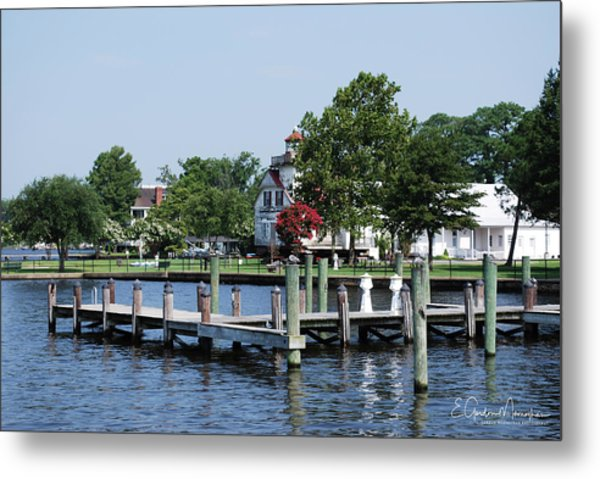 Edenton Waterfront Metal Print
