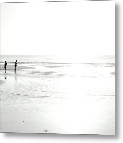 Metal Print featuring the photograph Edge Of Light by Eric Christopher Jackson