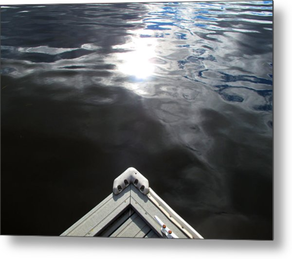 Edge Of The Dock 2 Metal Print by Lyle Crump