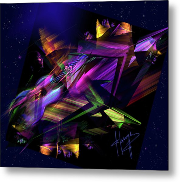 Edge Of The Universe Metal Print