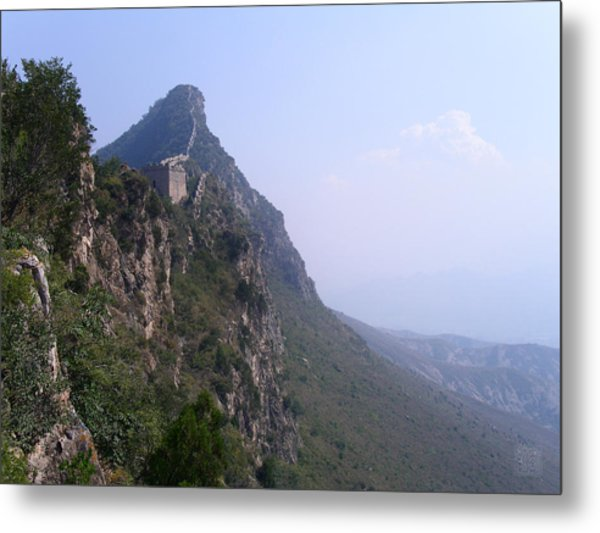Edge Of The World Metal Print