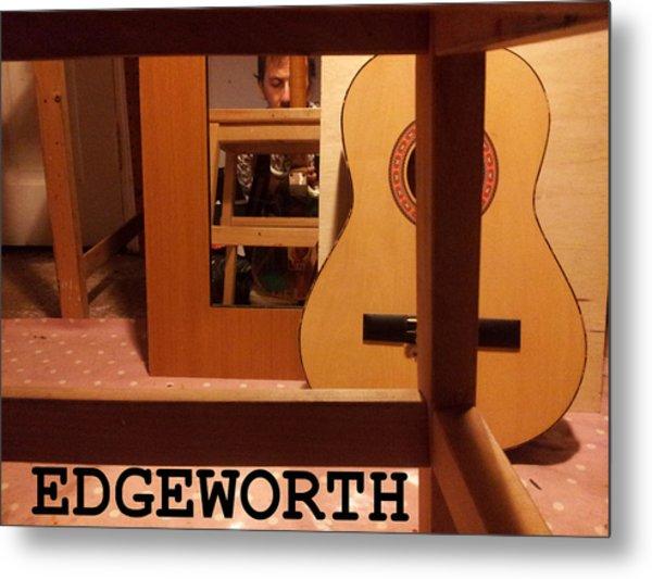 Edgeworth Acoustic Guitar Metal Print