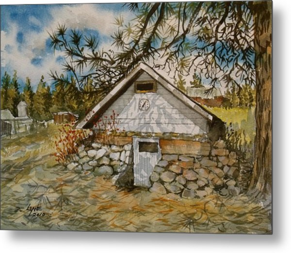 Edwards Root Cellar Metal Print