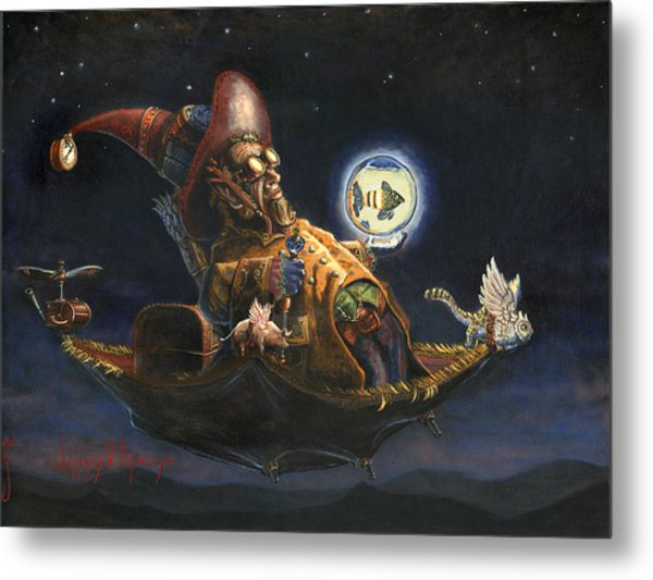 Edwin And Norbert At It Again Metal Print by Jeff Brimley