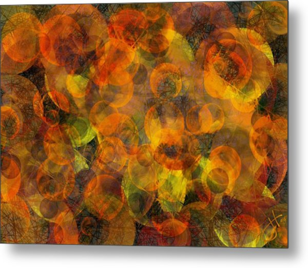 Effervescent Ties Metal Print