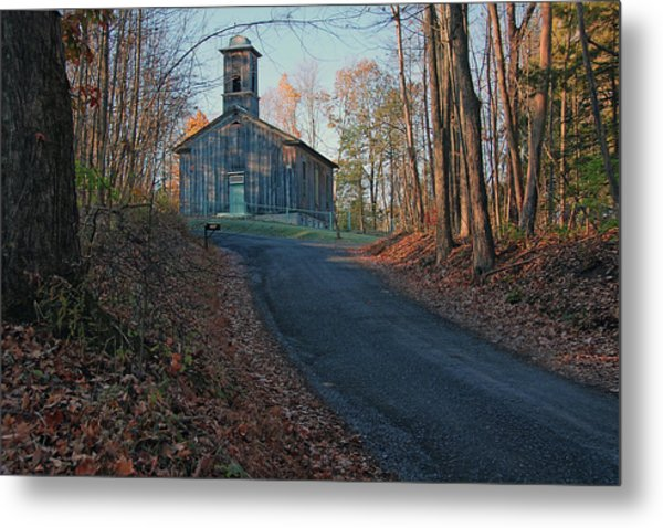 Egg Hill Church  Metal Print