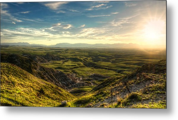 Egg Mountain Montana Metal Print