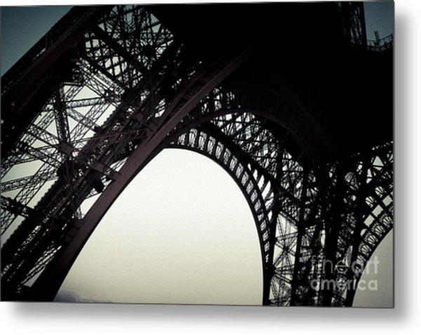 Eiffel Metal Print
