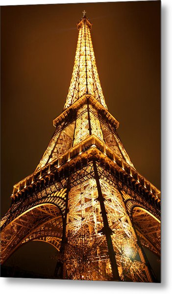 Metal Print featuring the photograph Eiffel by Skip Hunt