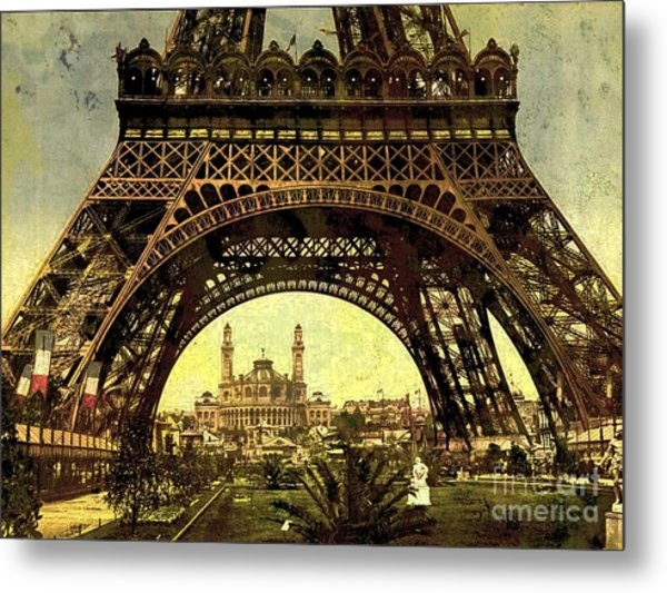Eiffel Tower 1900 Metal Print