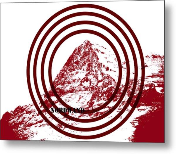 Eiger Nordwand Metal Print by Frank Tschakert