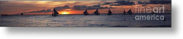 Eight Sailer Metal Print