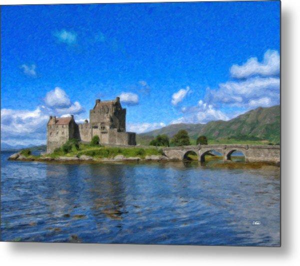 Eilean Donan Castle - Sct671252 Metal Print