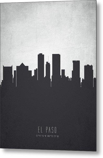 El Paso Texas Cityscape 19 Metal Print