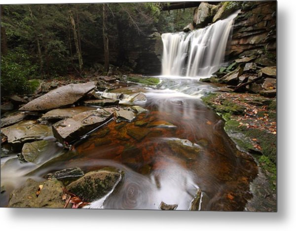 Elakala Falls In West Virginia Metal Print