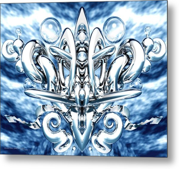 Elation Metal Print by Dreamlight  Creations